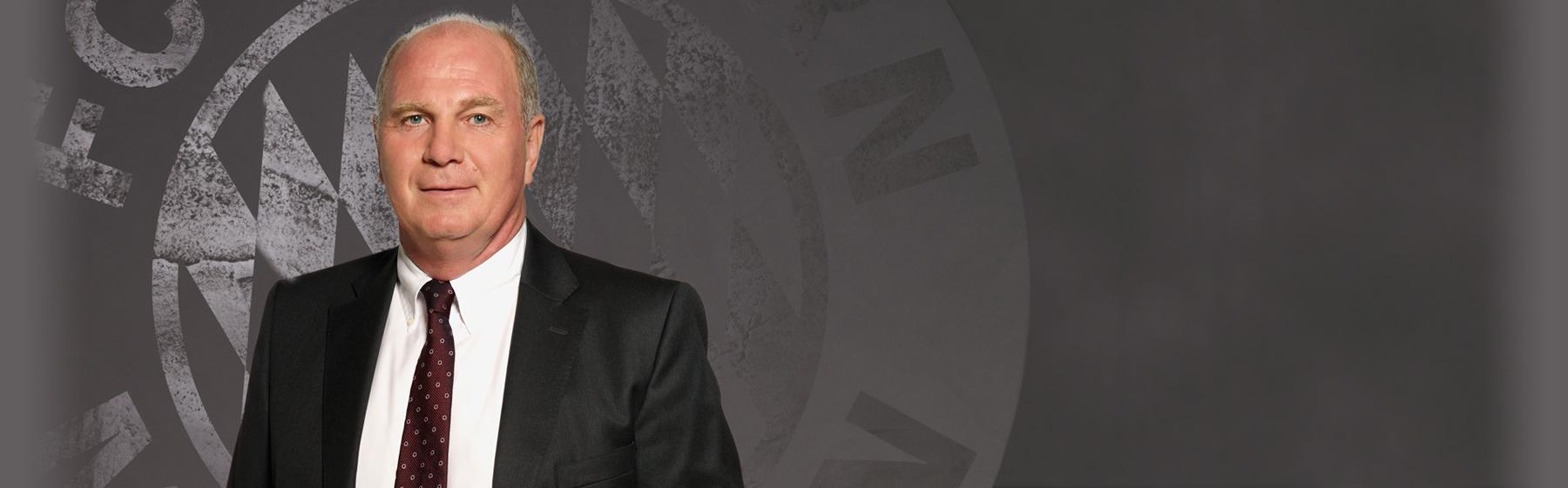 Uli Hoeneß FC Bayern Munich president header-picture