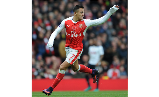 Alexis Sanchez Arsenal London