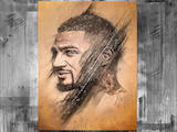 Original signed Portrait by Kevin-Prince Boateng - Artist SutoSuto
