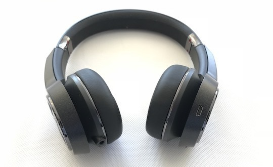 Elements on-ear headphones original signed by Lukas Podolski