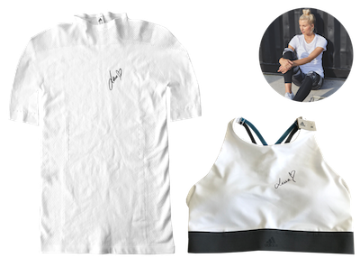 Original signed fitness outfit by Lena Gercke