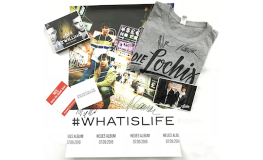 Win a merchandise package from the Lochis