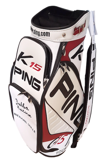 PGA Golf tourbag by Bubba Watson