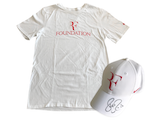 signed cap & t-shirt from Roger Federer