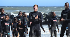 Sebastian Steudtner - Surf lessons for children in Africa
