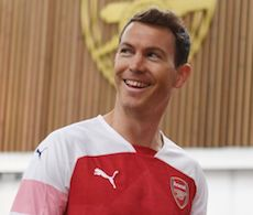 Stephan Lichtsteiner Arsenal London