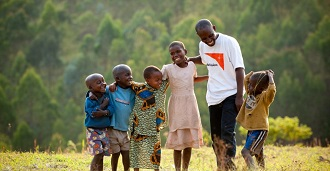 World Vision: supporting Children and their families
