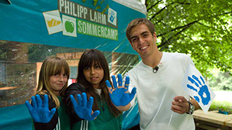 Philipp Lahm summer camp