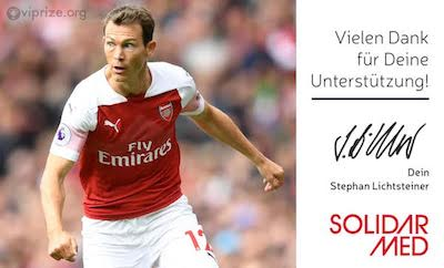 Digital Thank You Card Stephan Lichtsteiner